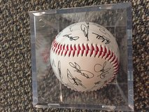 Chicago Cub Autographed Baseball in Naperville, Illinois