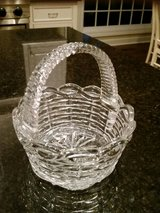 Clear Glass Basket - Great for Easter Decor in Wheaton, Illinois