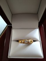 Nice nugget with diamond ring in Fort Rucker, Alabama