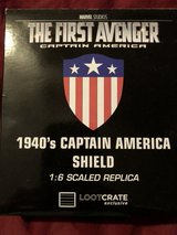 The First Avengers 1940's Shield Replica in Kingwood, Texas