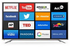 "4K Smart TV 55"" Ultra HD Sharp 2160p in Eglin AFB, Florida"
