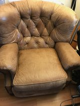 Leather recliner in Elgin, Illinois