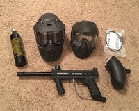 Tippmann 98 paintball gun and accessories in Fort Leonard Wood, Missouri