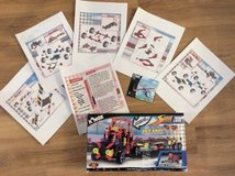 2 K'Nex building sets ( Plane 73445 and Big Rig Race transport 12024) in Cambridge, UK