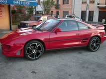 TOYOTA MR2 US SPECS  - 1 YR WARRANTY - Cars&Cars Military Sales by Chapel gate on the left in Vicenza, Italy