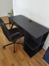 Desk and chair in Wiesbaden, GE