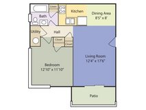 Military Discount! 1 bedroom Apartment! in Cherry Point, North Carolina