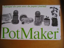 PAPER POT MAKER - SEED STARTER - GARDEN in Oswego, Illinois