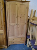 Pine wardrobe with drawers in Lakenheath, UK