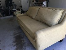 Couch appropriate for den or living room!  Only three years old and still looks new! in Beaufort, South Carolina