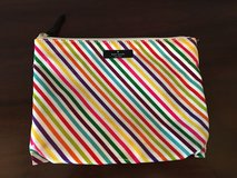 Kate Spade Accessory Tote / Makeup Bag - Rainbow Stripe in Glendale Heights, Illinois