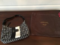 LIKE NEW Kate Spade Purse - Small Black and White in Chicago, Illinois