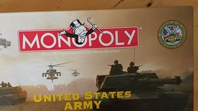 United States Army Monopoly game in Fort Lewis, Washington