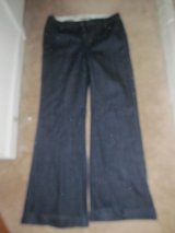 Ladies size 8 Gap wide legged jeans in Fort Benning, Georgia