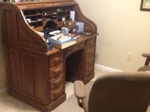 Antique  Rolltop Desk Solid Oak  Beautiful in Camp Lejeune, North Carolina