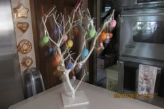 Easter Table Top Tree With Ornaments in Kingwood, Texas