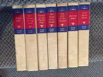 Reduced Vintage Zane Grey Novel Set 7 books in DeKalb, Illinois