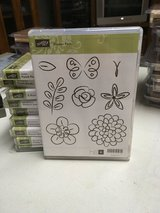 Stampin Up stamp sets, clear mount, very gently used in Lockport, Illinois