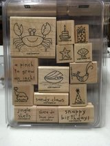 Stampin Up Wood mounted retired sets, gently used in Lockport, Illinois