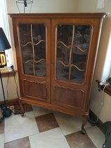 Vintage curio cabinet in Fort Leonard Wood, Missouri