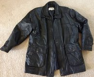 Mens Comint Leather Jacket Size XL EUC in Tinley Park, Illinois