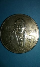 1978 Silver CIEN PESOS COIN in Warner Robins, Georgia
