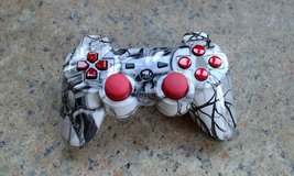 Custom case skull PS3 controller in Lakenheath, UK