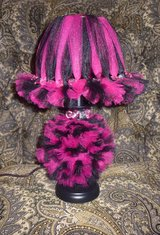Tutu Lamp - Hot Pink and Black - Hand Embellished - $35.00 in Spring, Texas