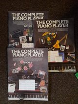 3 piano sheet music books in Lakenheath, UK