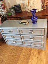 Dresser hand painted with metallic paint with 6 drawers in Clarksville, Tennessee