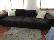 Black Couch for sale in Stuttgart, GE