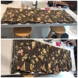 Floral print curtains-4 panels in Travis AFB, California