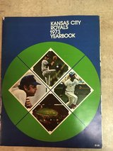 1973 KC Royals yearbook in Byron, Georgia