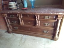 Marble top dresser in Travis AFB, California