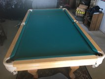 8' Pool Table with Accesories in Yucca Valley, California