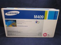 Genuine SAMSUNG Toner (2) M409 Magenta (1) C409 Cyan in Lockport, Illinois