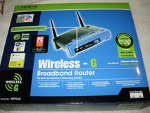 Linksys Wireless-G Broadband Router in Camp Lejeune, North Carolina