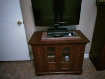 A television stand in Beaufort, South Carolina