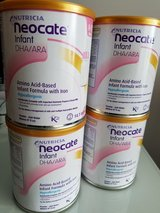 Infant Neocate Baby Formula New Sealed Nutricia DHA/ARA 4 Cans 14.1 oz in Joliet, Illinois