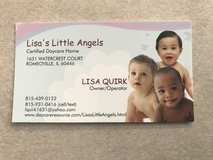 Certified Daycare Provider Lisa's Little Angels Daycare/Preschool in Romeoville in Joliet, Illinois