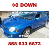 WRX TURBO AWD! NO PAYMENTS FOR 75 DAYS!! in Vista, California