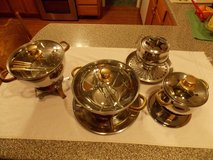 Command Performance Gold Warming Pots and Fondue Pot in Fort Campbell, Kentucky