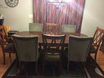 9 piece Ashley Furniture dining room table in Wilmington, North Carolina