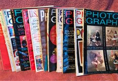 15 Photography Magazines from 1950s-1960s in Sandwich, Illinois