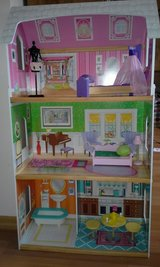 Doll house for Barbie type dolls in Shorewood, Illinois