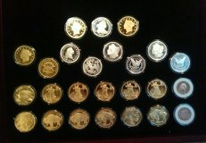 Rare gold and silver replica collector coins in Nashville, Tennessee