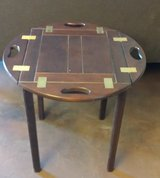 Bombay Mahogany Butler end table in 29 Palms, California