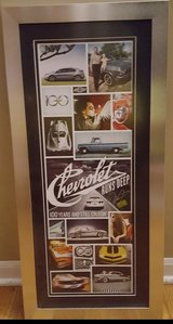 Chevy runs deep Dale Earnhardt Jr signed poster in Naperville, Illinois
