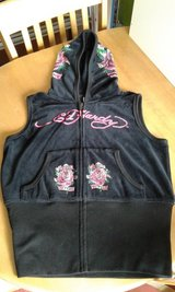 Ed Hardy velour body warmer/gillet in Lakenheath, UK