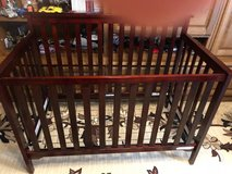 baby crib ,cherry color in Ramstein, Germany